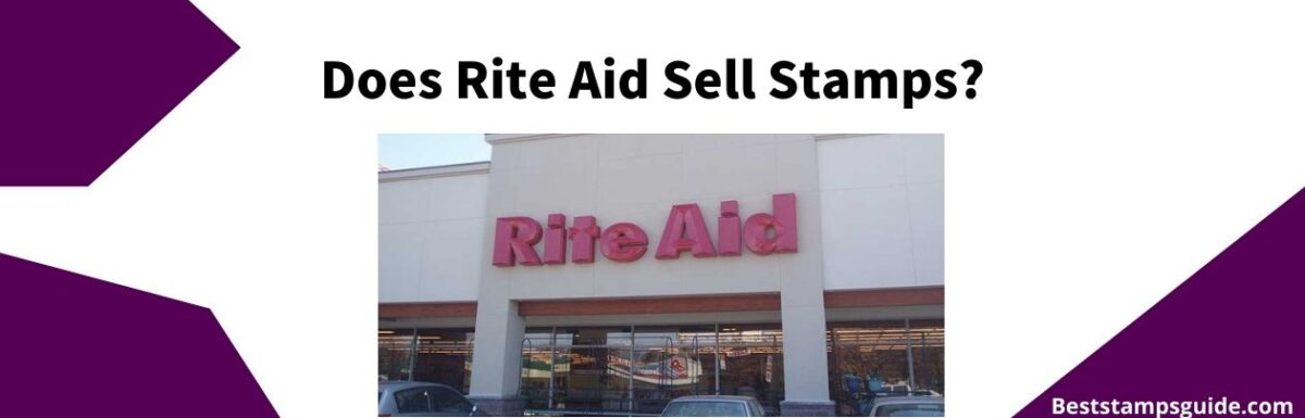 banner for a guide on rite aid that sell stamps