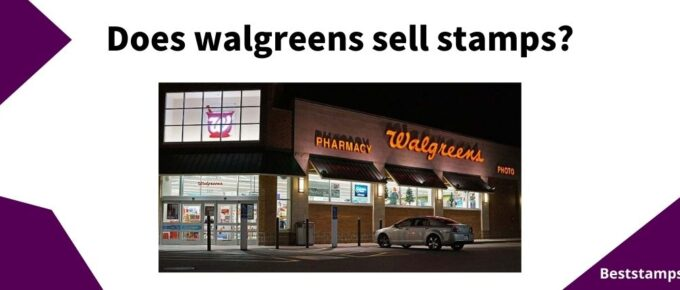 banner for a guide on Walgreens that sell stamps