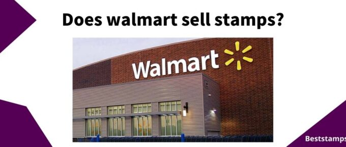 banner for a guide on Walmart that sell stamps