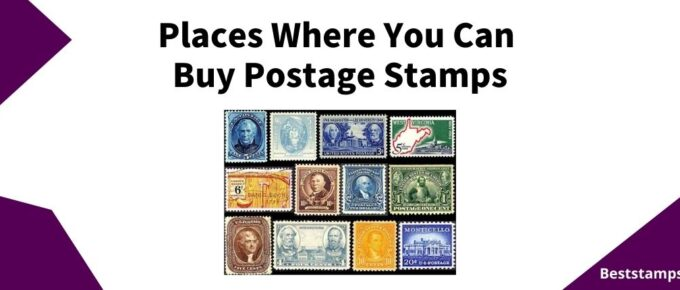 postage stamps banner for a guide on where to buy stamps